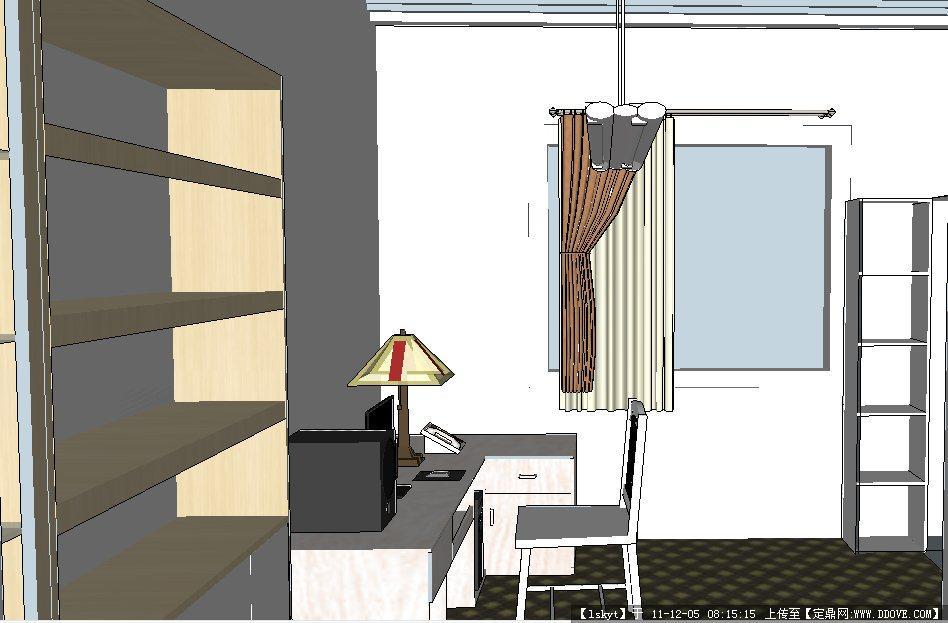 室内设计作业su模型的下载地址