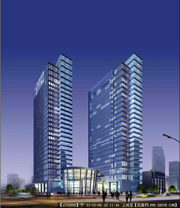 二层办公楼效果图,办公楼大厅效果图,小型办公楼效果图,高层办公