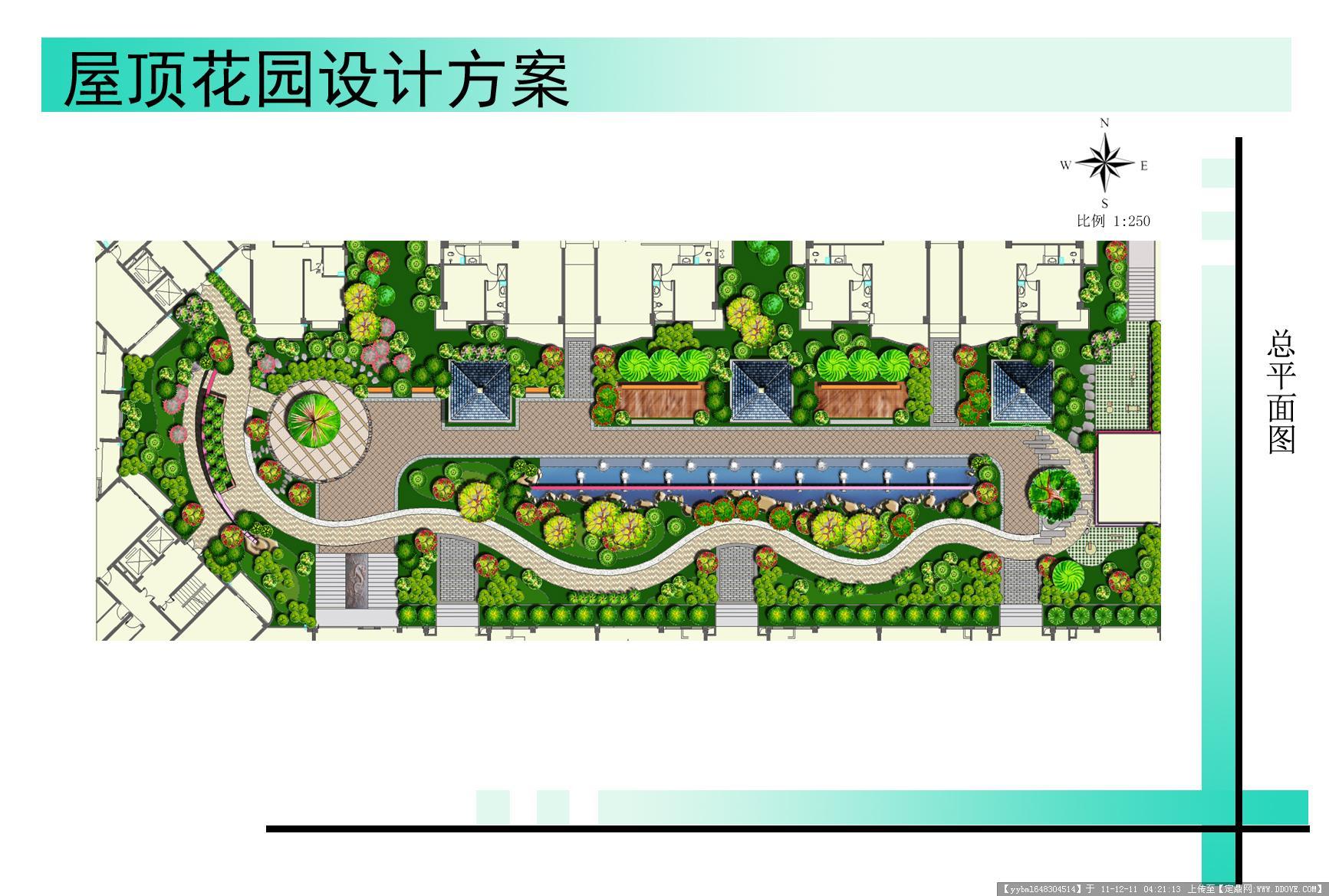 屋顶花园方案图