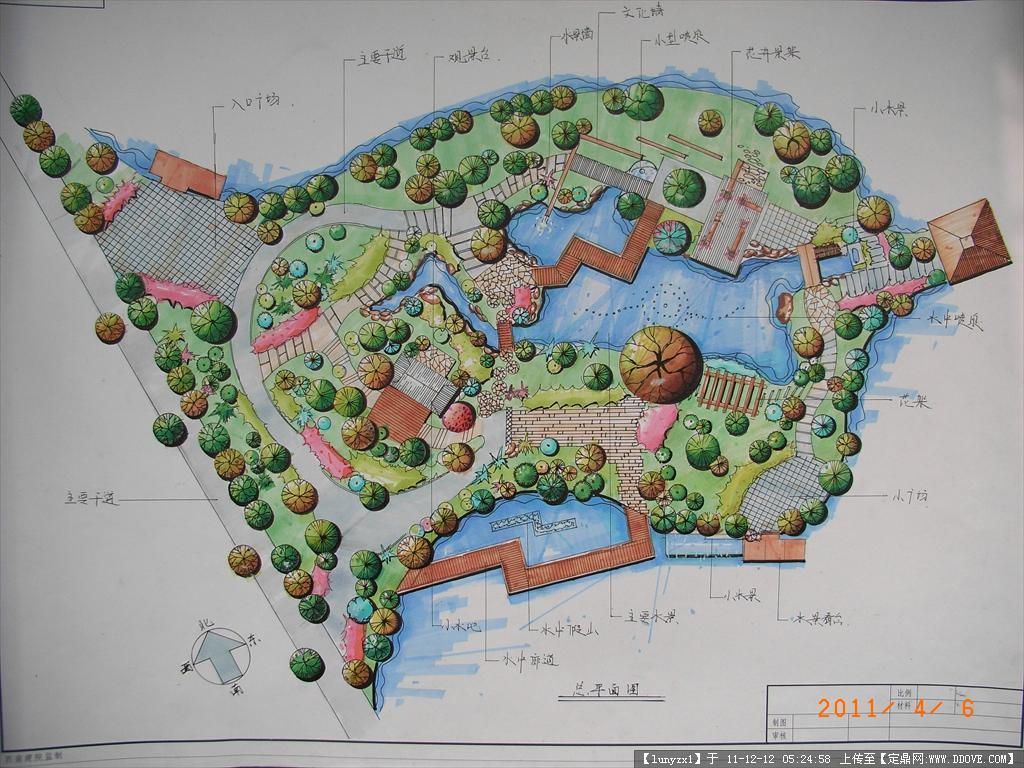校园空地规划图