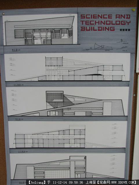 建筑手绘图纸排版_建筑手绘图纸排版设计