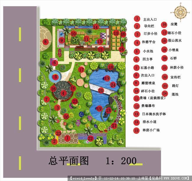 第一次的景观设计作业(居住区绿地设计)