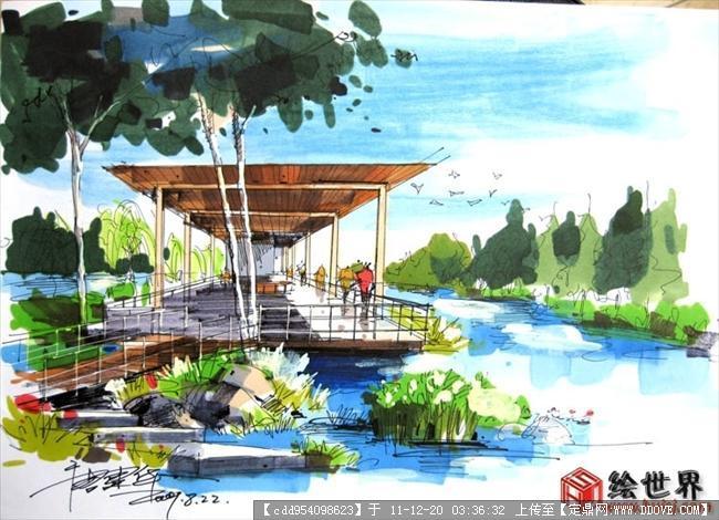 各种实用休闲设施/景观节点的手绘效果图-20.jpg
