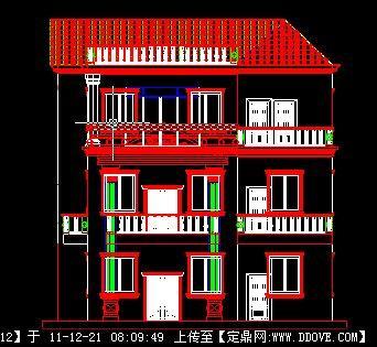住宅建筑立面图
