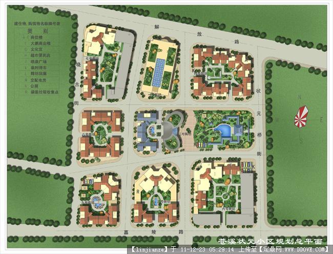 经典景观园林设计平面图 53张