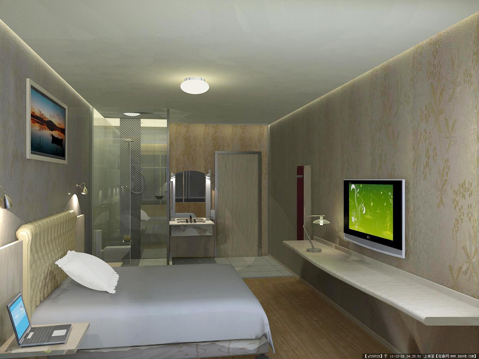 酒店客房效果图的图片浏览,室内效果图,酒店会所,室内