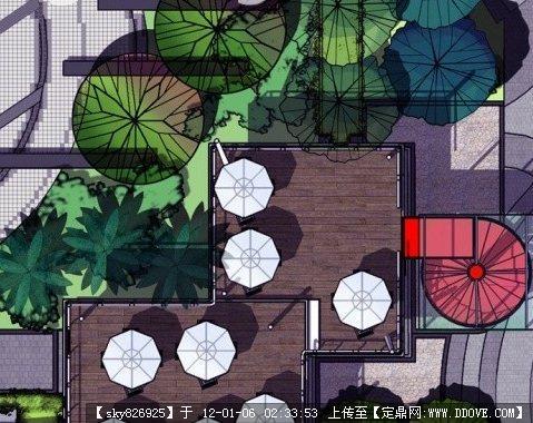 sketchup草图大师景观设计作品 sketchup表现技法汇总