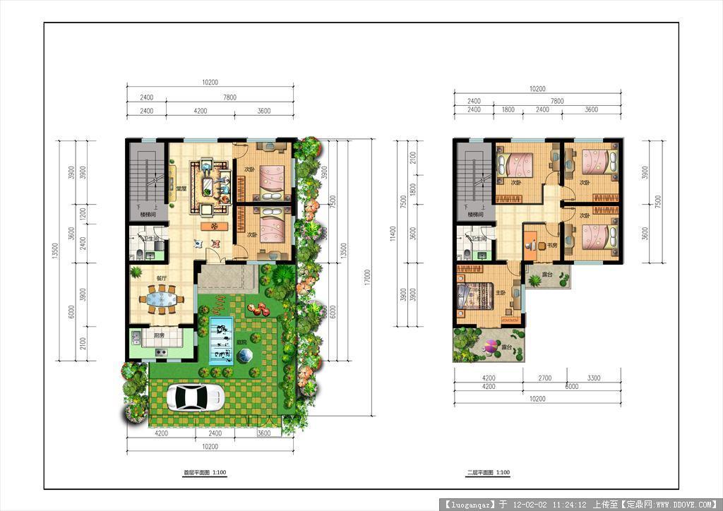 农村房子设计图内部
