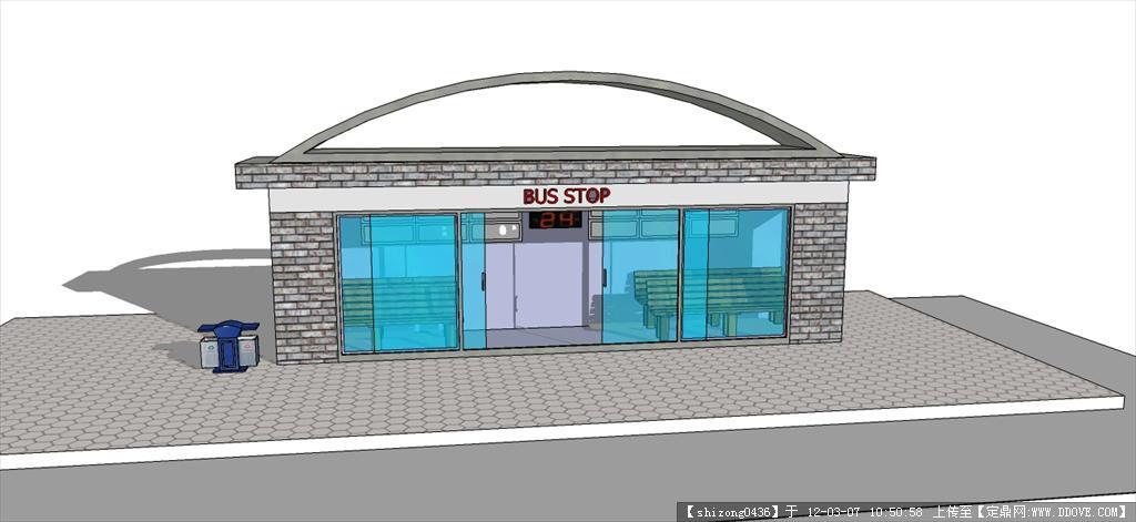 公交车站点设计原创