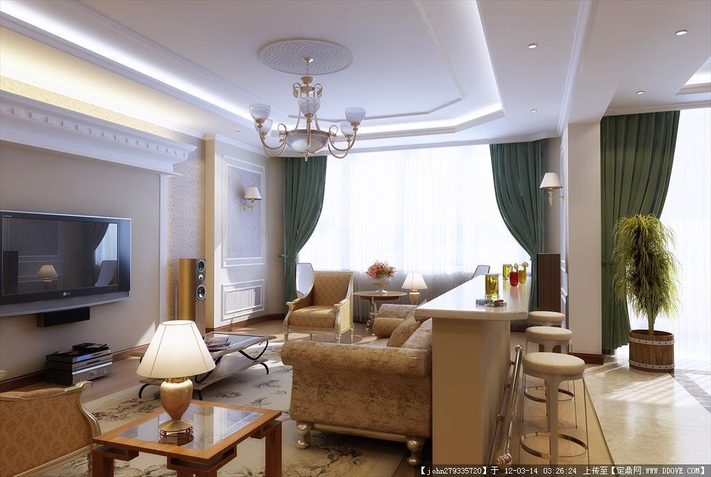 室内家居装修设计效果图 室内设计效果图图片