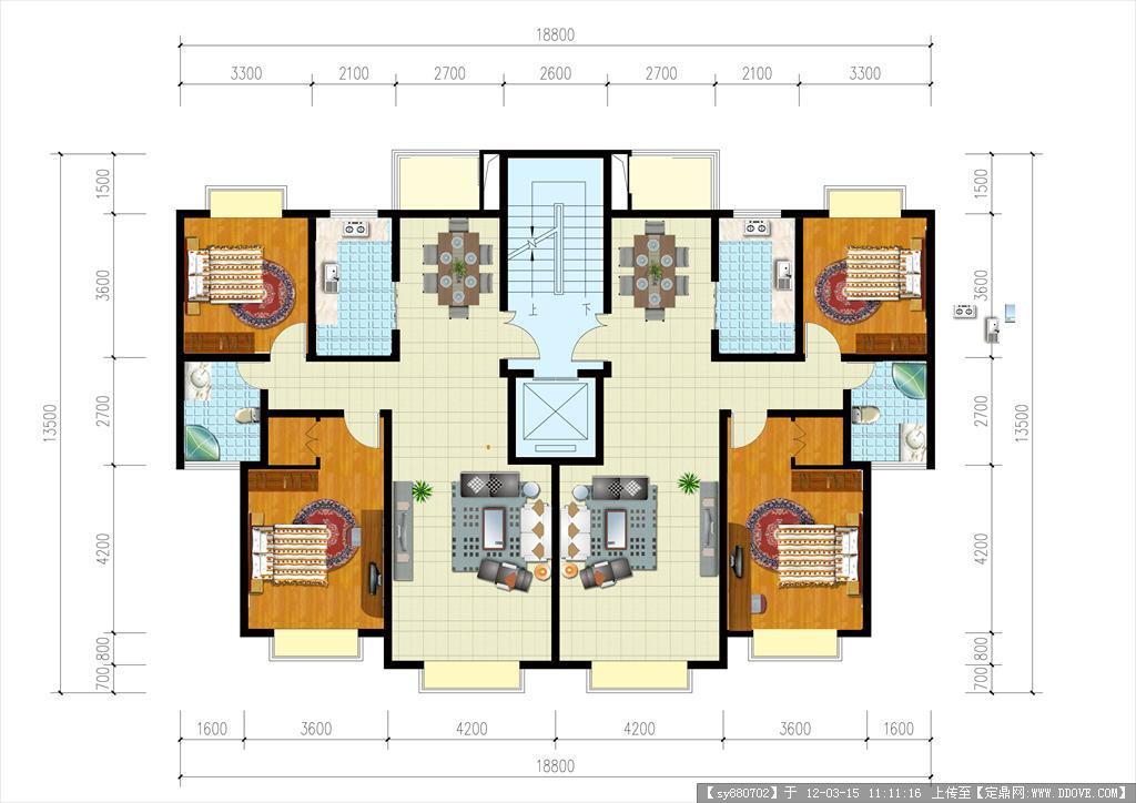 土拨鼠装饰设计门户 img13 tbscache com  桌面两间两层楼房设计图
