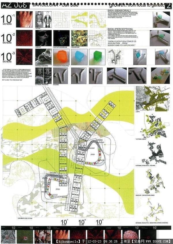 建筑设计展板8张-大图的图片浏览,建筑方案图纸,其他