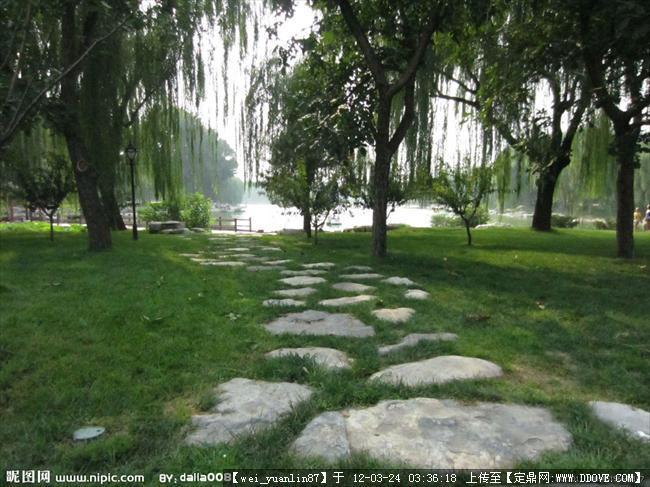 汀步图片的图片浏览,园林节点照片,汀步,园林景观设计