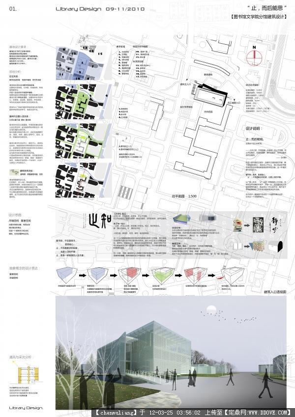 建筑学版式设计分享展示