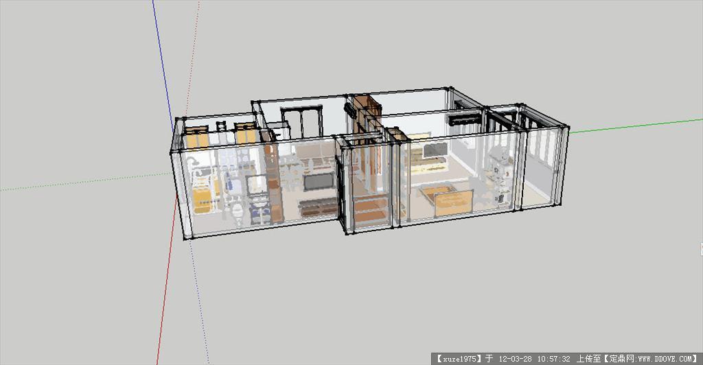 二居室内装修效果图