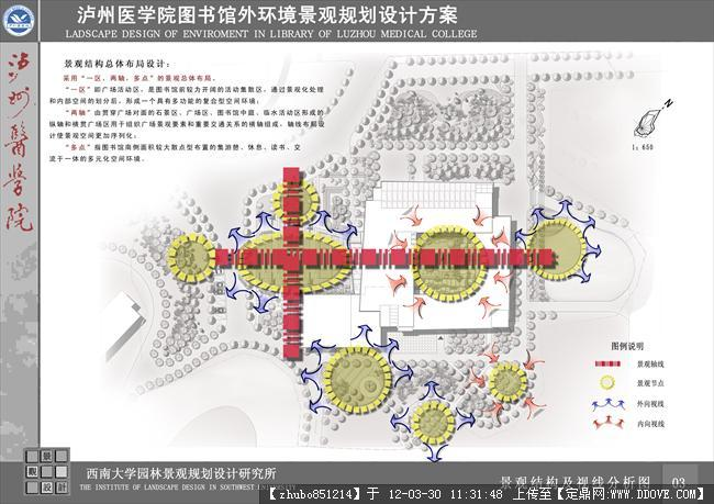 泸州医学院设计-003景观结构及视线分析图 .jpg