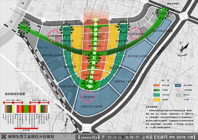 生态工业园区规划-0830规划结构图
