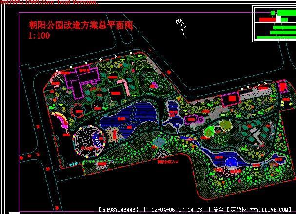 游園設計方案平面圖的下載地址,園林方案設計,公園,.