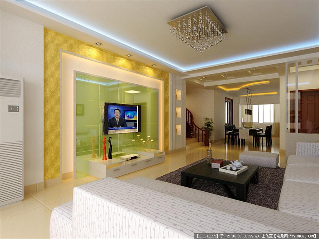 小复式室内装修案例; 室内效果图