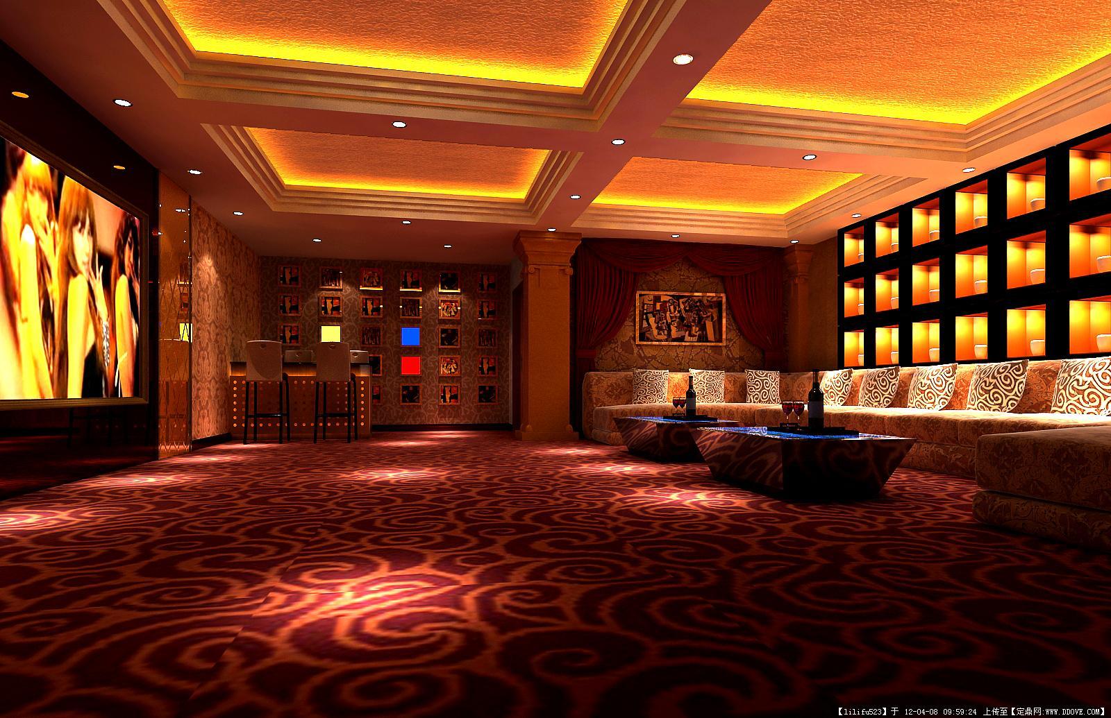 ktv3装修效果图的图片浏览,室内效果图,酒店会所,室内