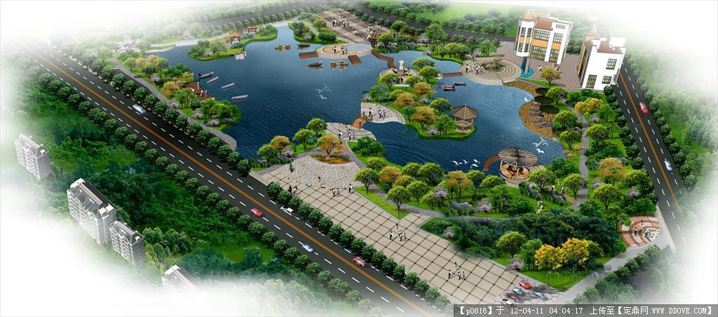 滨水景观规划