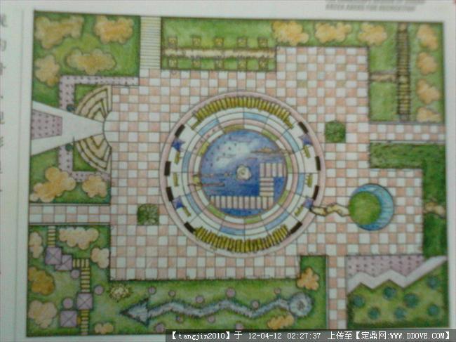 定鼎网 定鼎园林 园林方案设计 公园景观 公园平面构成图集  2 334.