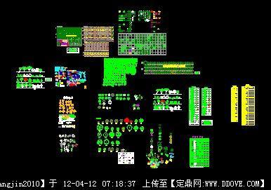 植物cad图例大全的下载地址