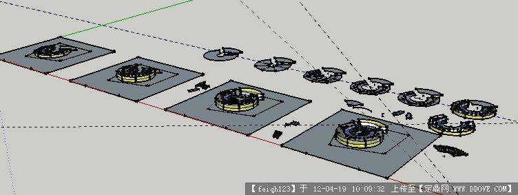幼儿园建筑设计图su模型+cad方案