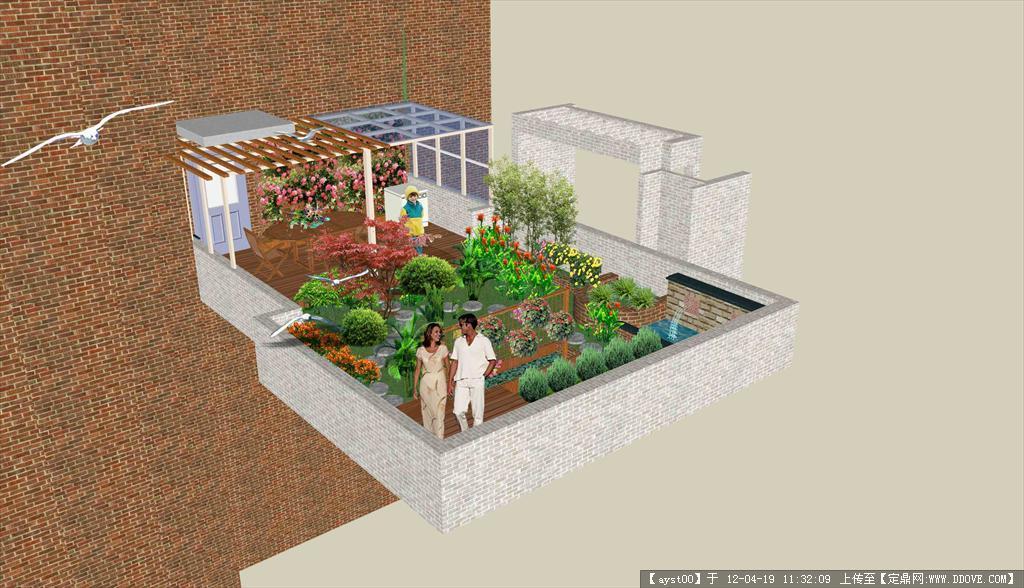 日本農家小院設計