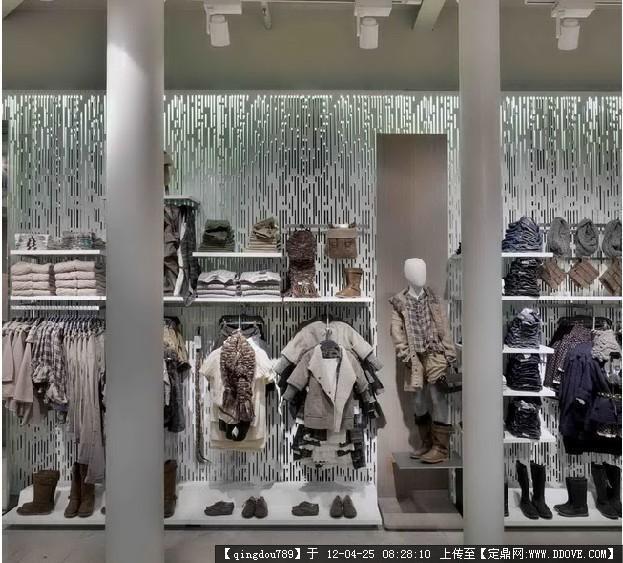 三米宽的店铺设计图展示