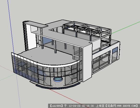 sketchup草图大师模型