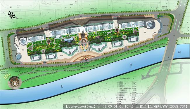 某小区规划的下载地址,园林方案设计,居住区,园林景观