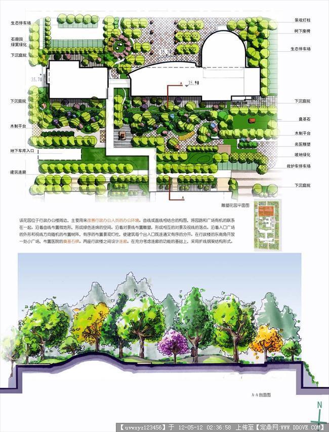北京地坛医院迁建工程景观规划设计的图片浏览,园林