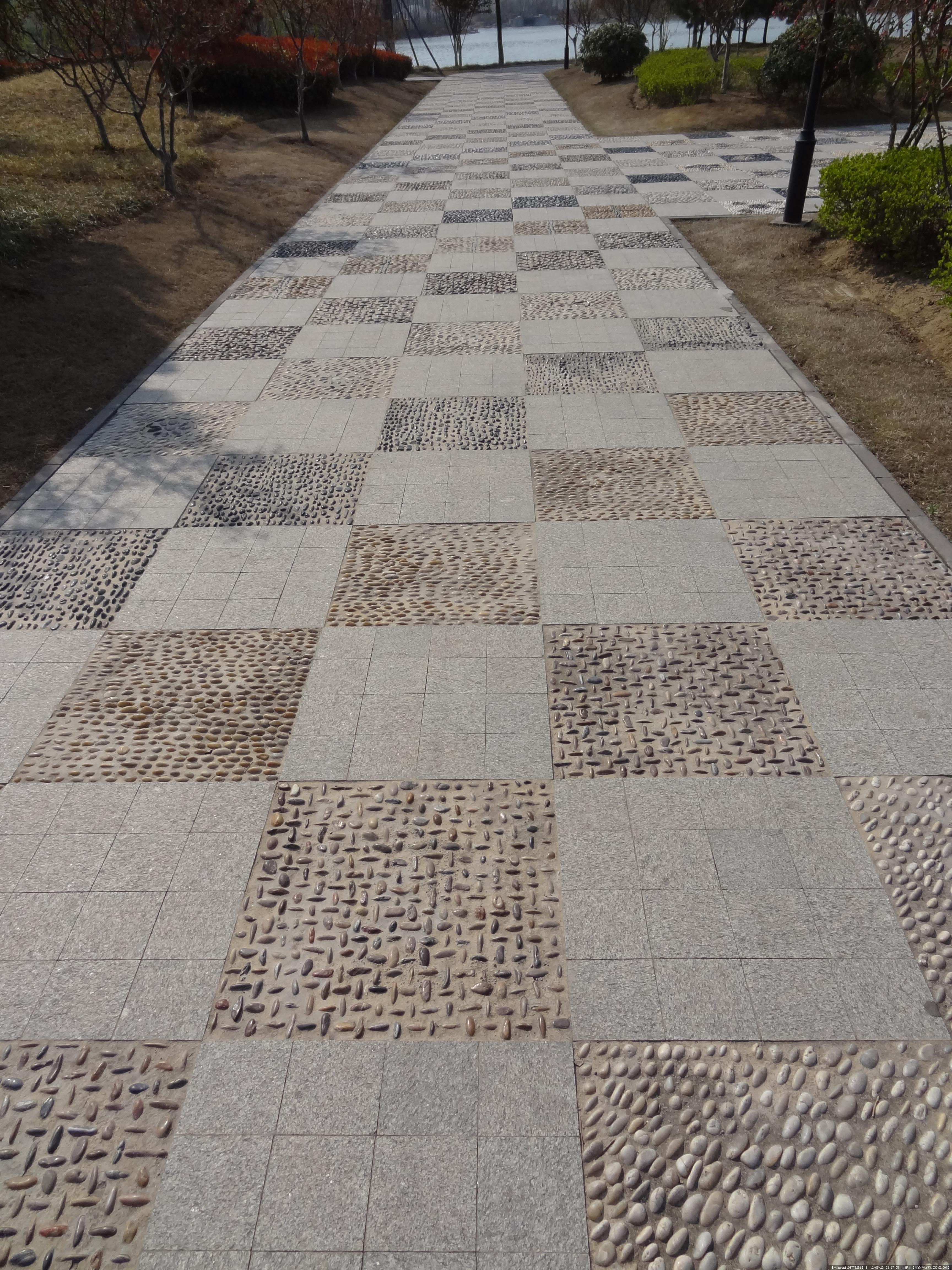 广场地面铺装素材