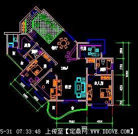 某高层住宅设计图 高清图片