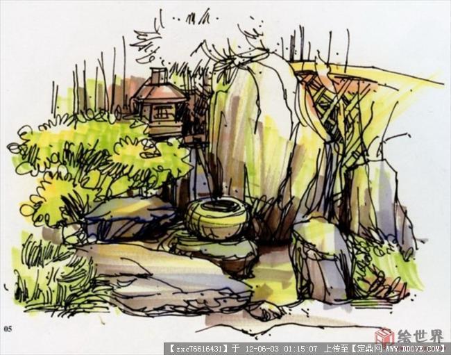 夏克梁老师手绘作品-图片集