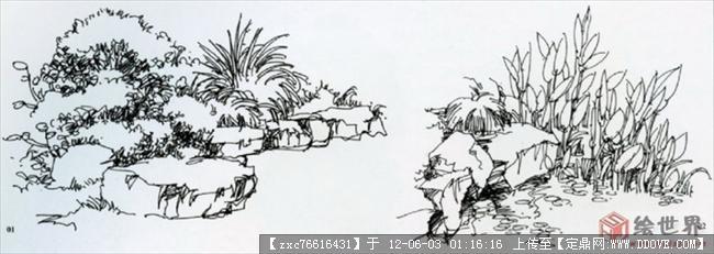 夏克梁老师手绘作品-图片集的图片浏览,园林效果图,手绘效果,园林