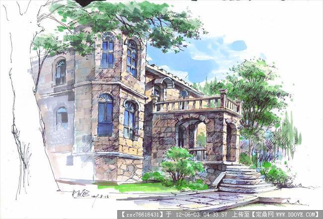 园林手绘练习-neo_img_柏影景观建筑 (3).jpg