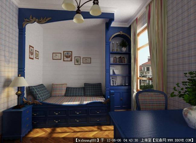 杭州装饰网推荐经典现代简约两室两厅装修效果图 5.jpg