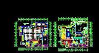 设计图 建筑/某超市平面图...