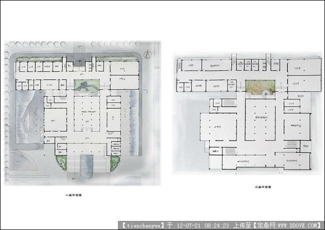 博物馆设计图纸