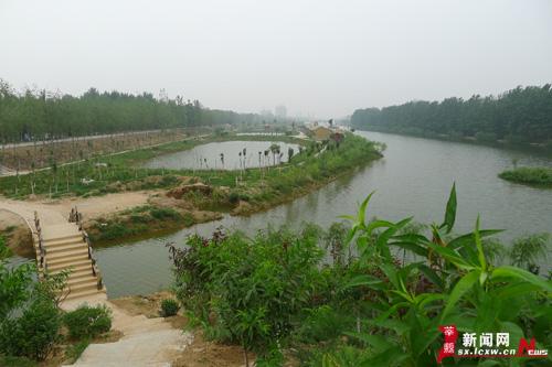 山东:徒骇河风景区湿地工程竣工 领略夏日风光秀 - 园林资讯 - 中国