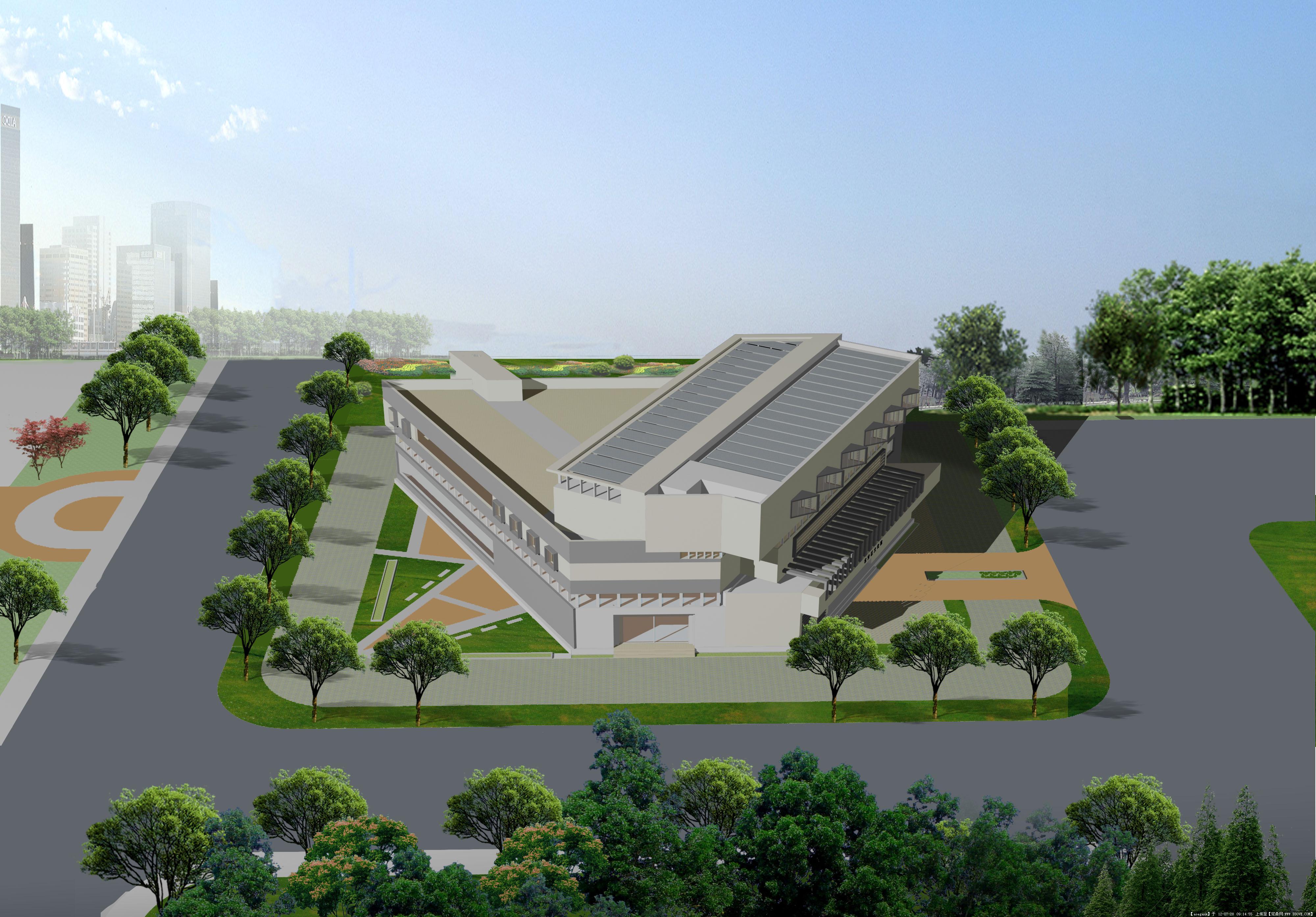 >> 建筑方案图纸       >> 中国古建 幼儿园平面设计