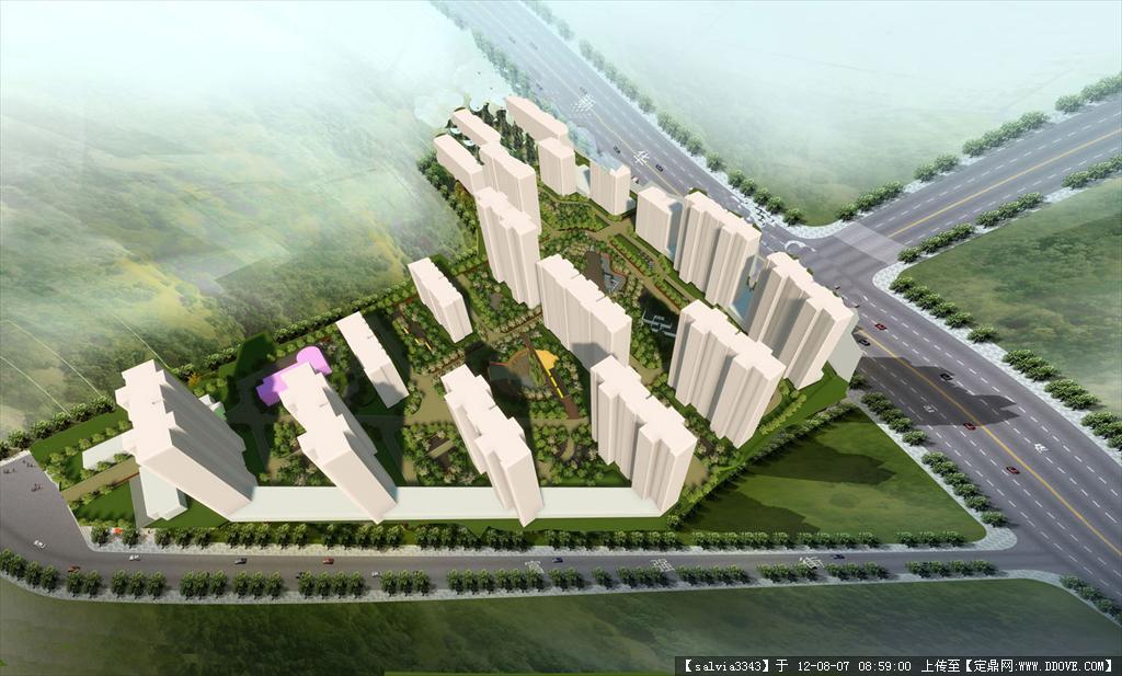 居住区设计案例_优秀居住区设计案例