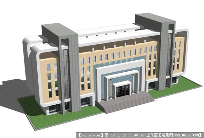 办公楼的su模型-办公楼.jpg