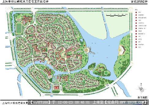 上海某居住区小区景观设计文本