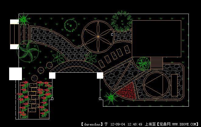 花园cad方案平面图的下载地址,园林方案设计,花园庭院图片