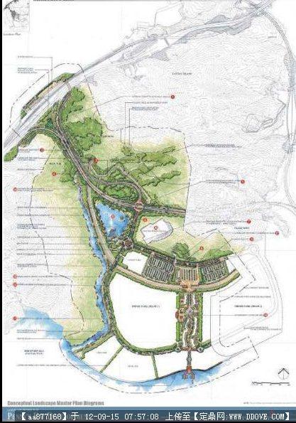 香港迪士尼主题公园景观设计方案