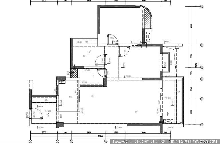 室内设计全套施工图纸