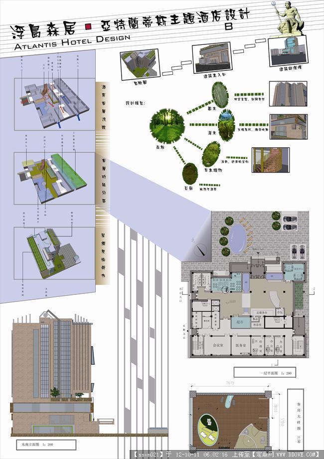 酒店设计(原创高清图)-浮岛森居②.jpg 原始尺寸:4677 * 6622